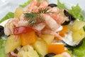 Free Prawn Salad. Royalty Free Stock Images - 4744939