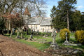 Free English Village Church And Graveyard Stock Photography - 4746552