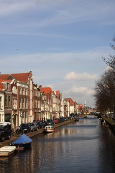 Free Dutch Canal Royalty Free Stock Images - 4740009