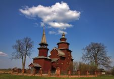 Free Wooden Church. Stock Photography - 4740372