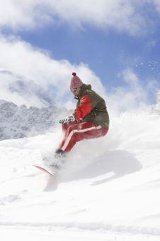 Free Snowboarder Royalty Free Stock Photos - 4741028