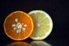 Free Orange & Lemon Stock Image - 4741131