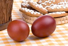 Free Easter Still-life With Eggs Royalty Free Stock Photography - 4741237