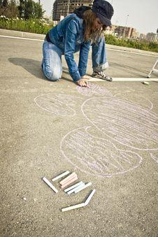 Free Street Artist Stock Image - 4741861