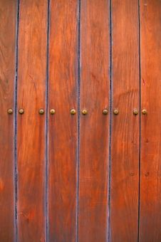 Free Old Red Door Royalty Free Stock Photo - 4742375