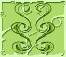 Free Twirly Growth Greenery Royalty Free Stock Image - 4742486