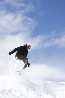 Free Snowboarder Stock Photography - 4742602
