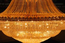 Free Golden Pendant Lamp Stock Photos - 4743543