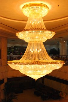 Free Pendant Lamp In A Hotel Royalty Free Stock Photos - 4743618