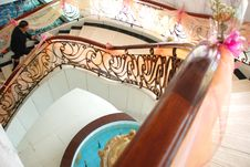 Free A Hotel Stairway Royalty Free Stock Photography - 4743657