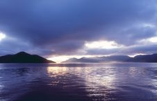 Free Lugu Lake Sunrise Stock Photos - 4743843