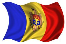 Free Moldova Flag Isolated Stock Images - 4743894