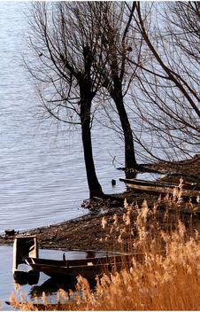 Free The Shore Of Lake Lugu Stock Photo - 4743900