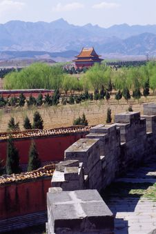 The Qing East Tombs Stock Photos