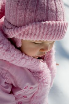 Free Young Girl In Pink Royalty Free Stock Photography - 4744177