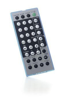 Free Flat Remote On White Background Royalty Free Stock Photo - 4744215