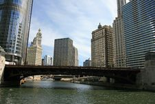 Free The High-rise Buildings In Chicago Royalty Free Stock Photos - 4744468