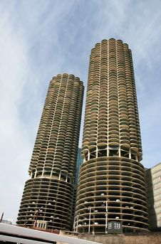 Free The High-rise Buildings In Chicago Stock Photos - 4744473