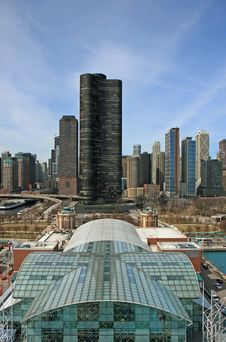 Free The High-rise Buildings In Chicago Stock Photo - 4744530