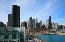 Free The High-rise Buildings In Chicago Stock Photos - 4744533