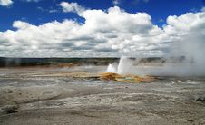Free Erupting Geyser Stock Photos - 4744583