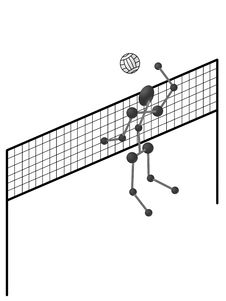 Free Olympics Volleyball Stock Photography - 4744812