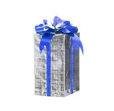 Free Celebratory Gift Isolated Royalty Free Stock Photo - 4744885