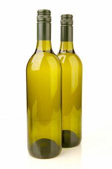 Free White Wine Bottles Royalty Free Stock Images - 4745429