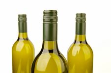 Free White Wine Bottles Royalty Free Stock Photo - 4745445