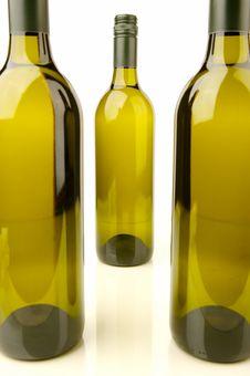 Free White Wine Bottles Stock Photos - 4745463
