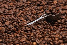 Free Coffee And Spoon Stock Images - 4745554