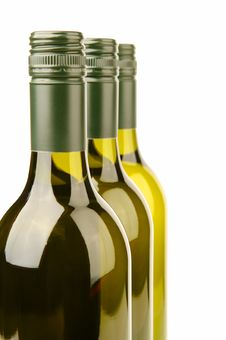 Free White Wine Bottles Stock Photo - 4745560
