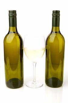 Free White Wine Bottles Stock Photography - 4745572
