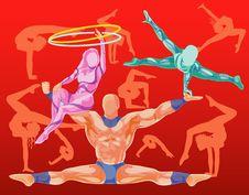 Free Acrobats Stock Image - 4746181