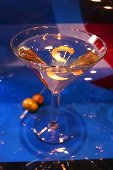 Free Martini With A Twist Stock Photos - 4746403