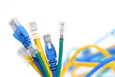 Free Eithernet Cables Royalty Free Stock Photos - 4746488