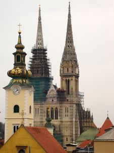 Free Zagreb Cathedral Stock Photography - 4746632