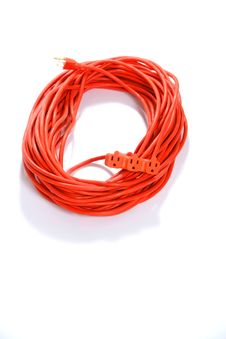 Free Orange Extension Cord Stock Images - 4746784