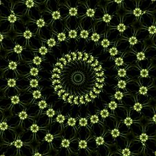 Free Petite Floral Wallpaper Stock Image - 4747131