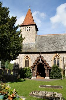 Free English Village Church Stock Images - 4747184