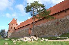 Free Trakai Wall Royalty Free Stock Photos - 4747388