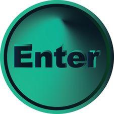 Free Enter Button Stock Photo - 4747540