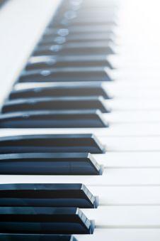 Free Piano Keys Stock Image - 4748331