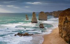 Free Twelve Apostles Royalty Free Stock Image - 4748576