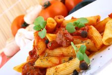 Free PASTA DinneR Stock Photos - 4748713