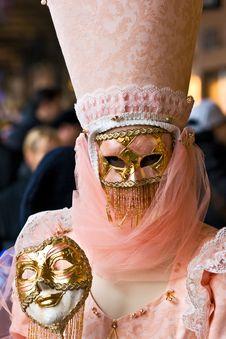 Free Venice Mask, Carnival. Royalty Free Stock Photography - 4749477