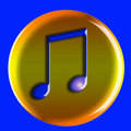 Free Musical Icon Stock Image - 4752141