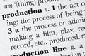 Free Production Word Dictionary Def Stock Images - 4752154