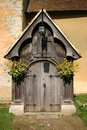 Free Church Entrance Porch Stock Image - 4754191