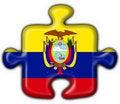 Free Ecuador Button Flag Puzzle Shape Royalty Free Stock Photo - 4758725